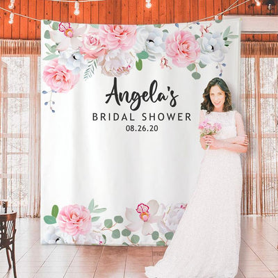 Custom Bridal Shower Backdrop 09