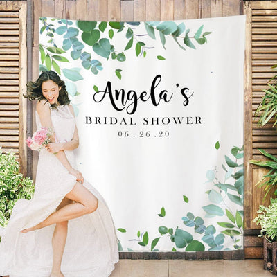 Custom Bridal Shower Backdrop 04