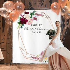 Custom Bridal Shower Backdrop 13
