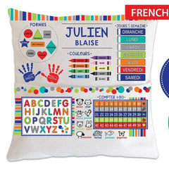 Personalized Kids Learning Pillow 07