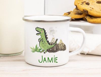 Personalized Cartoon Dinosaur Mug I06