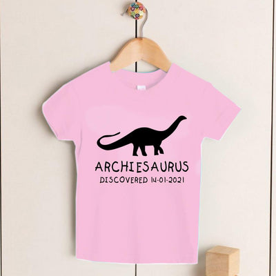 Personalized Kids Dinosaur T-Shirt 05