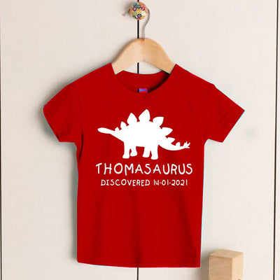 Personalized Kids Dinosaur T-Shirt 06
