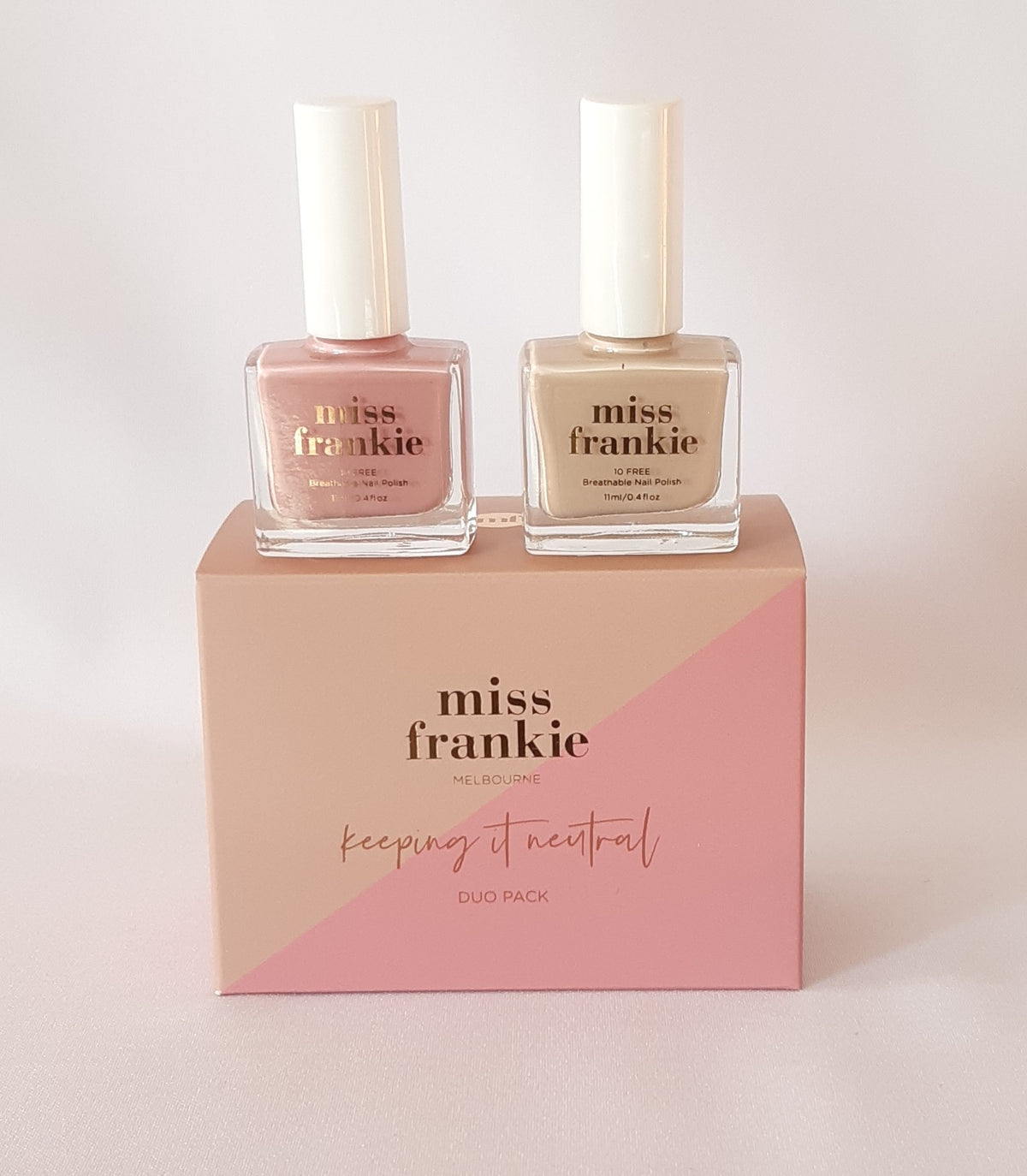 Nail Polishes - 'Keeping It Neutral' Duo Pack