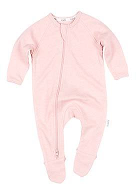 Organic Onesie Long Sleeve Dreamtime - Cashmere