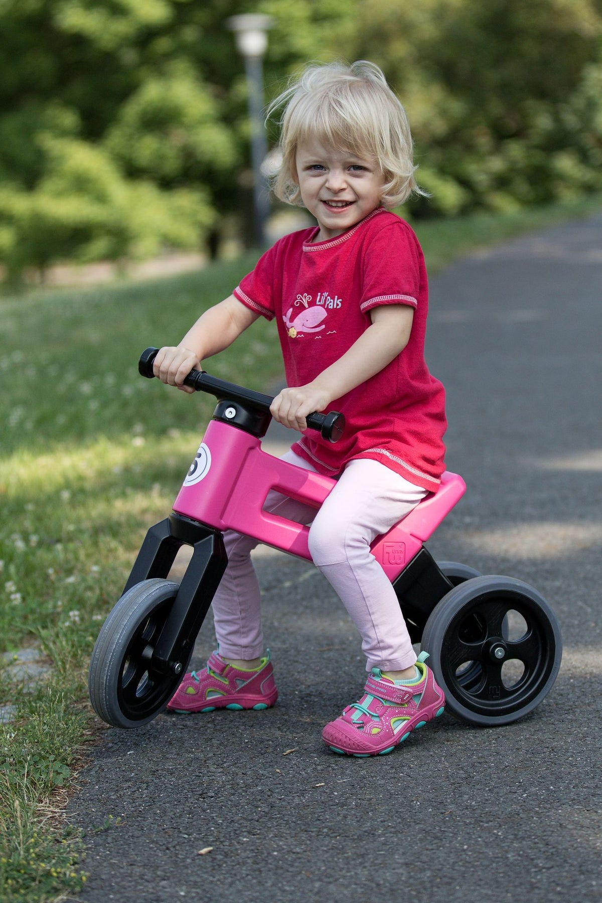 Funny Wheels Rider 2-in-1 Sport - Pink