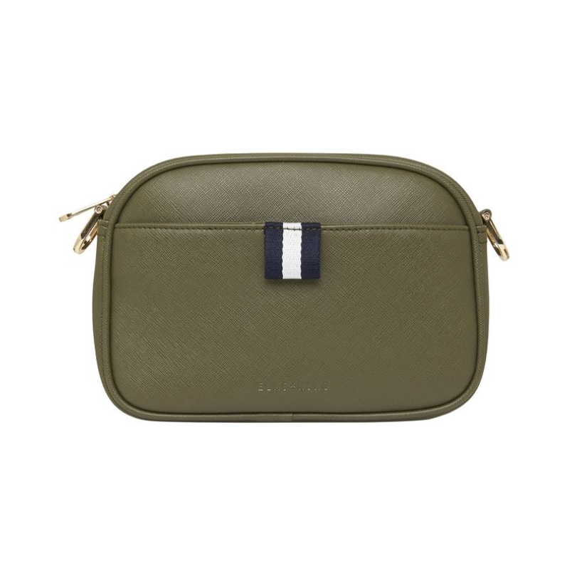 New York Camera Bag - Khaki Saffiano
