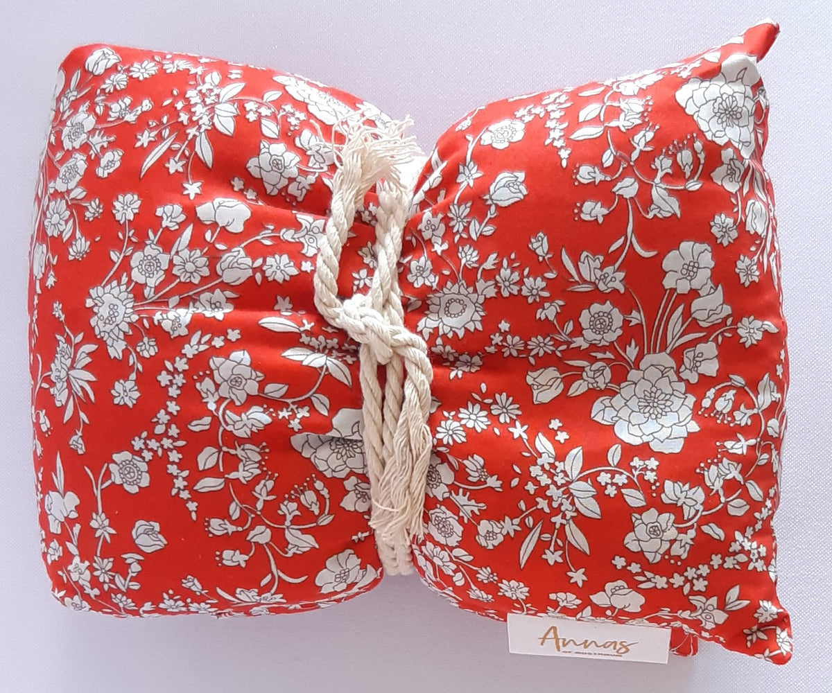 Liberty Print Wheat Bags - Rouge