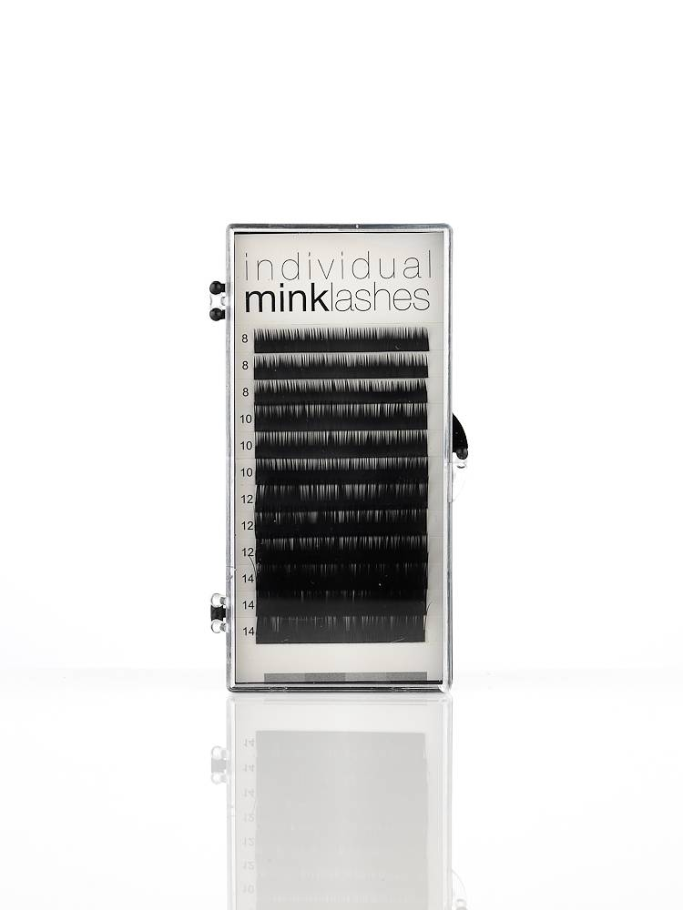 Mink Lashes C-curl Individual sizes