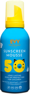 Evy Sunscreen Mousse Kids SPF 50 150 ml