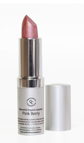 Natural & Organic Lipstick - Pink Berry