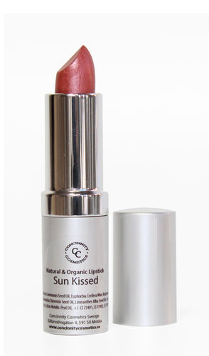 Natural & Organic Lipstick - Sun Kissed