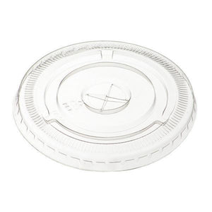 Load image into Gallery viewer, 10/12OZ Lids Clear BIOFlat Slot Lids