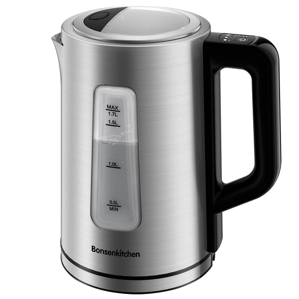 Bonsenkitchen Stainless Steel Cordless Electric Tea Kettle - Bonsenkitchen