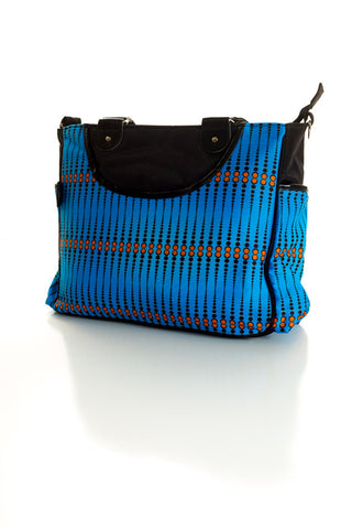 Amara Shoulder Bag - Skipper Azure
