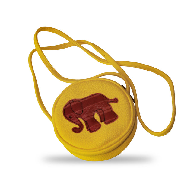 Tiwa Crossbody - Yellow Elephant