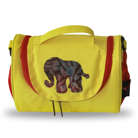 Toju Lunch Bags - Red and Yellow Elephant