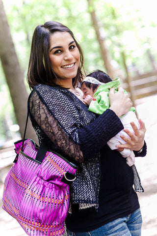 Root Catalog > HOB Store > Collection > Diaper Bags + Accessories  > Diaper Bags  > Kaira Diaper Tote