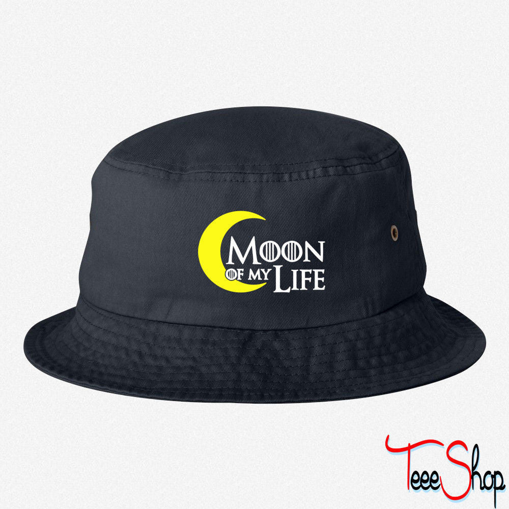 moon of my life EMBROIDERED BUCKET HAT