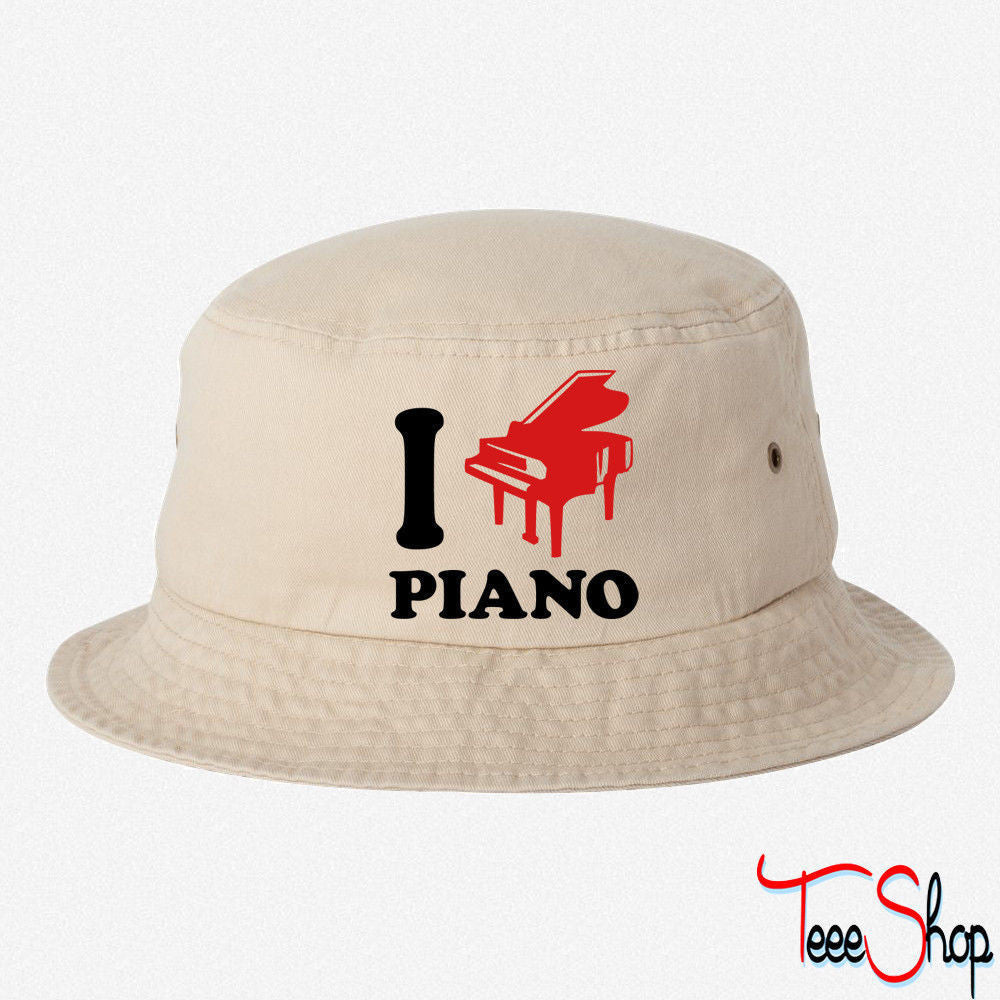 I Love Piano BUCKET HAT