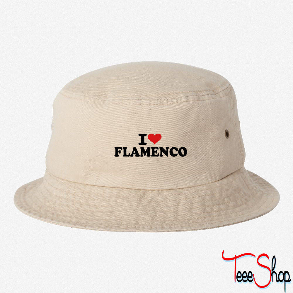I love Flamenco bucket hat