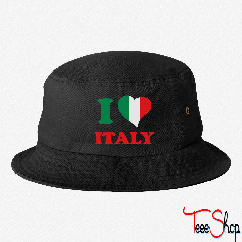 I LOVE ITALY BUCKET HAT