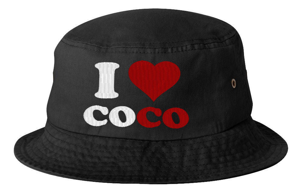 I LOVE COCO BUCKET HAT