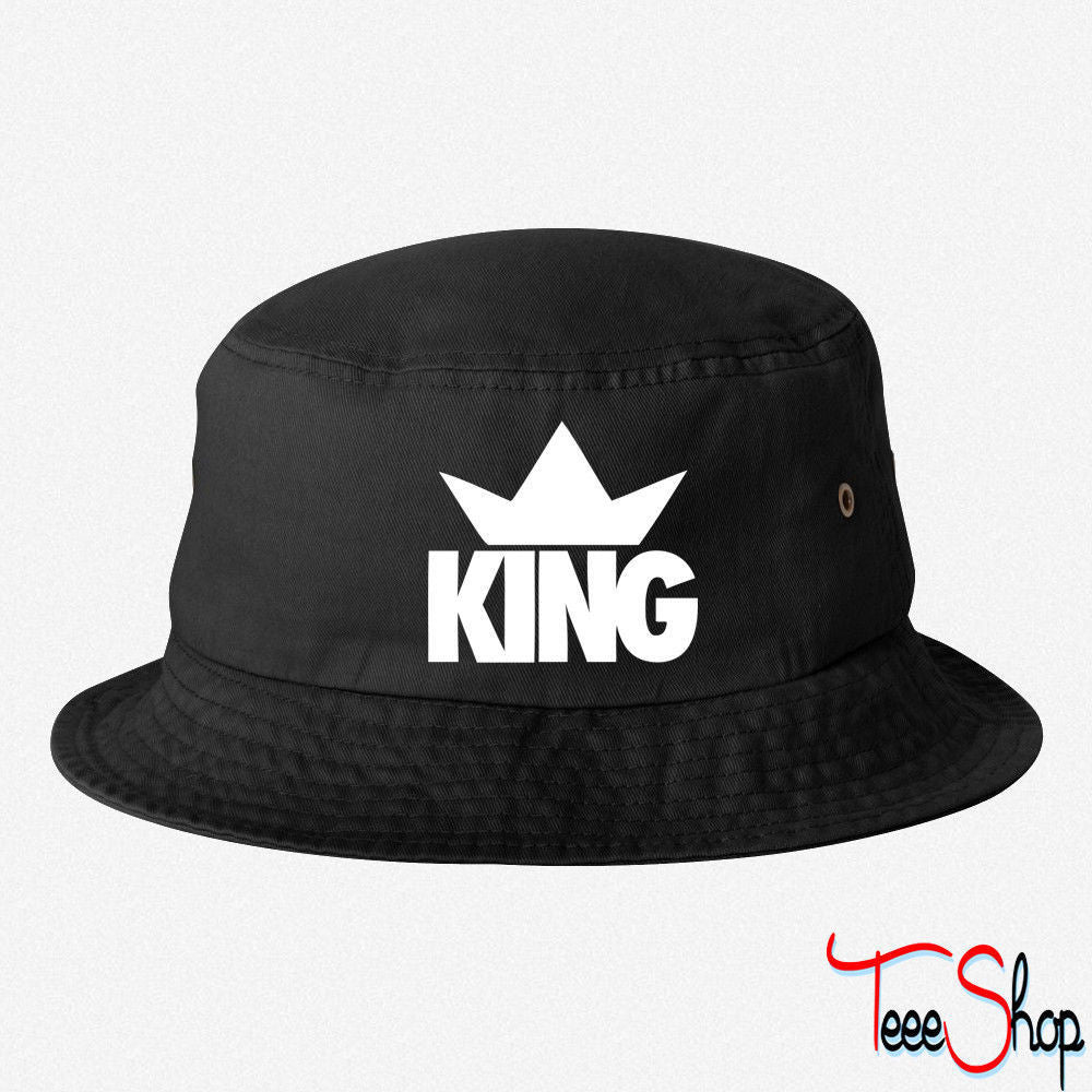 King Crown bucket hat