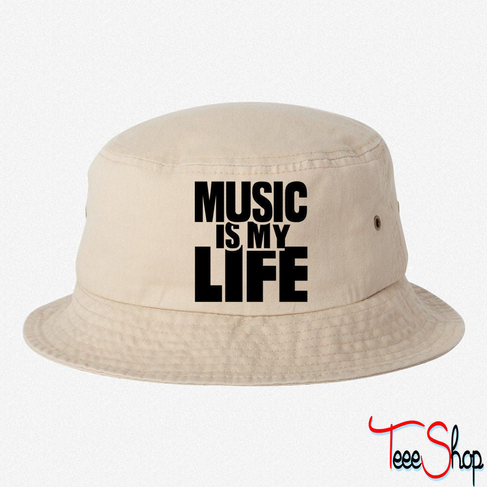 MUSIC IS MY LIFE  BUCKET HAT