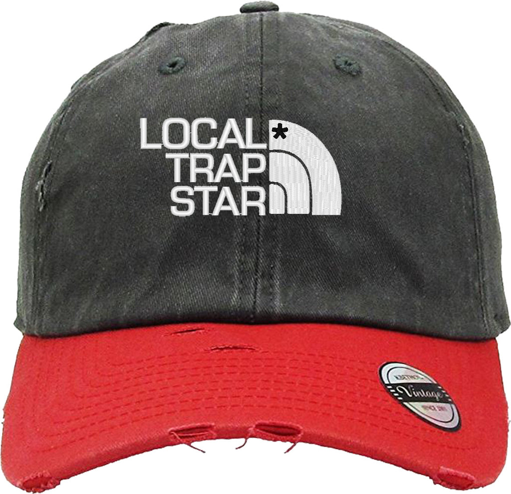 LOCAL TRAP Distressed Baseball Hat
