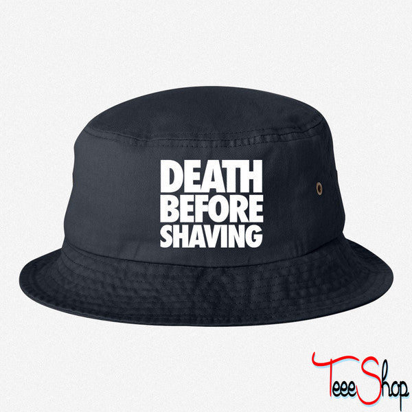 DEATH BEFORE SHAVING BUCKET HAT
