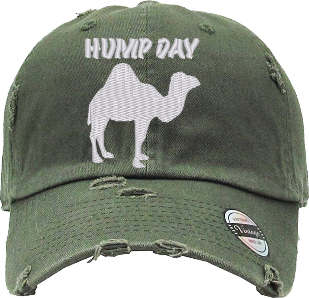 HUMP DAY CAMEL Distressed Baseball Hat