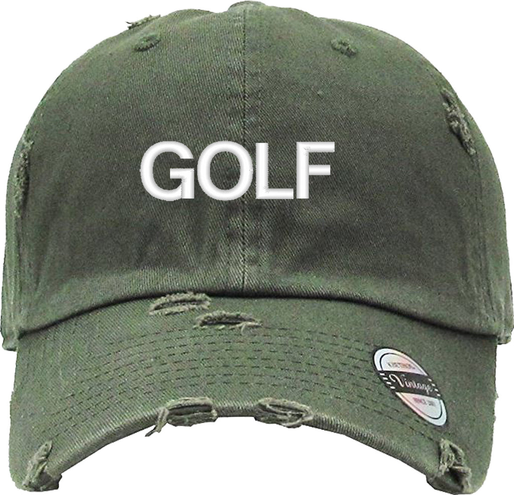 GOLF Distressed Baseball Hat