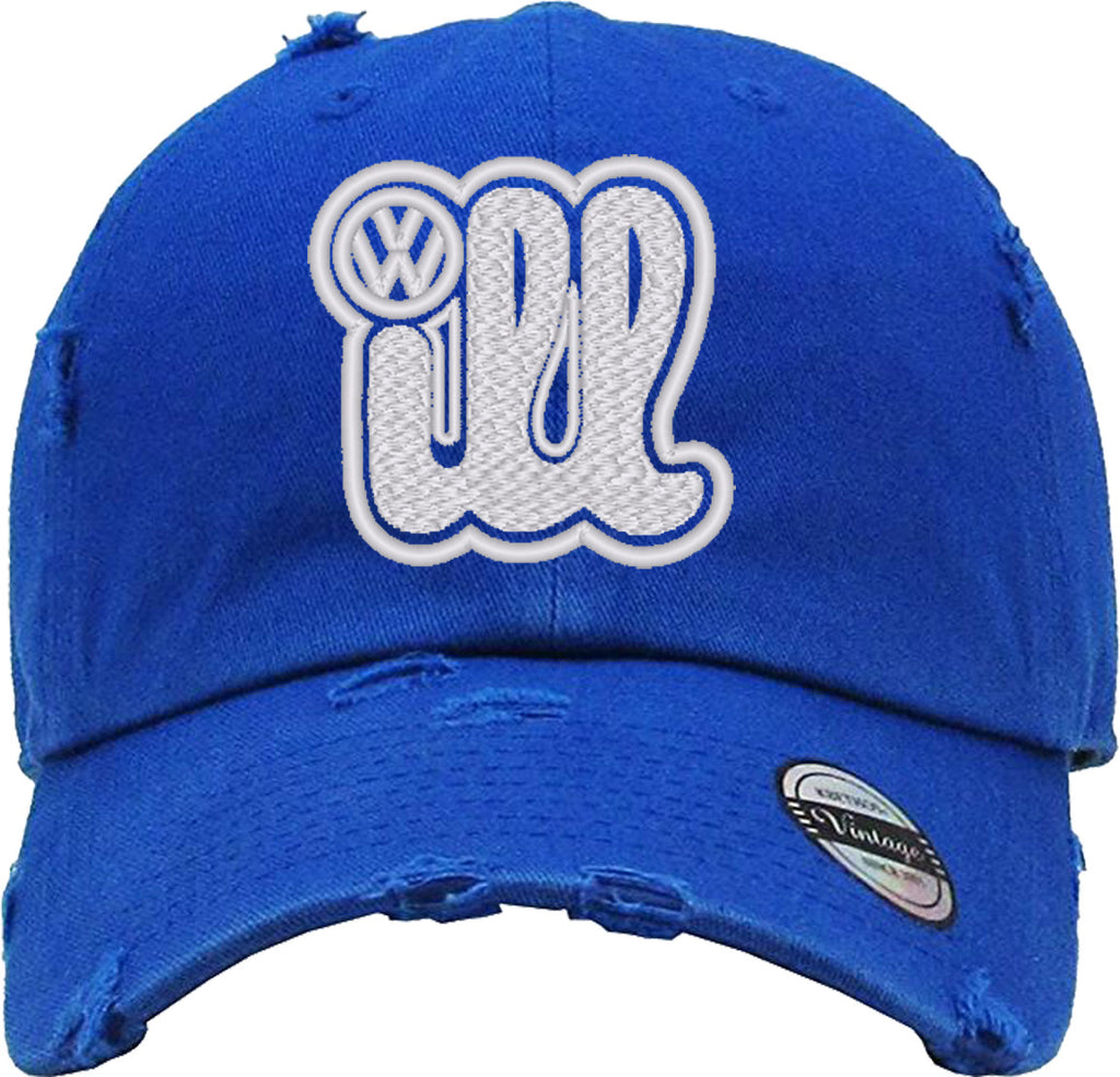 ILL VOLKSWAGEN Distressed Baseball Hat