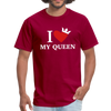 MY QUUEN Men's T-Shirt - dark red