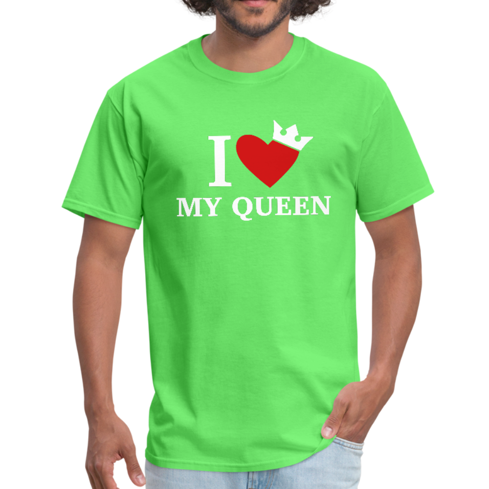 MY QUUEN Men's T-Shirt - kiwi