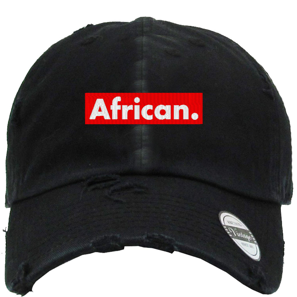 African Distressed Baseball