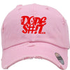 dope shit Embroidered Distressed Baseball hat