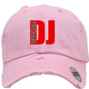 dj official Embroidered Distressed Baseball hat