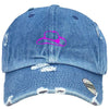 cowboys hat Embroidered Distressed Baseball hat