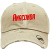 Anaconda Embroired Distressed Baseball