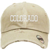 colorado Embroidered Distressed Baseball hat