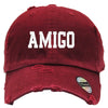 Amigo Embroired Distressed Baseball