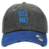 Bad Wolf Embroidered Distressed Baseballs