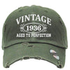 AGED TO PERFECTION 1936 Embroidered Distressed Baseball hat