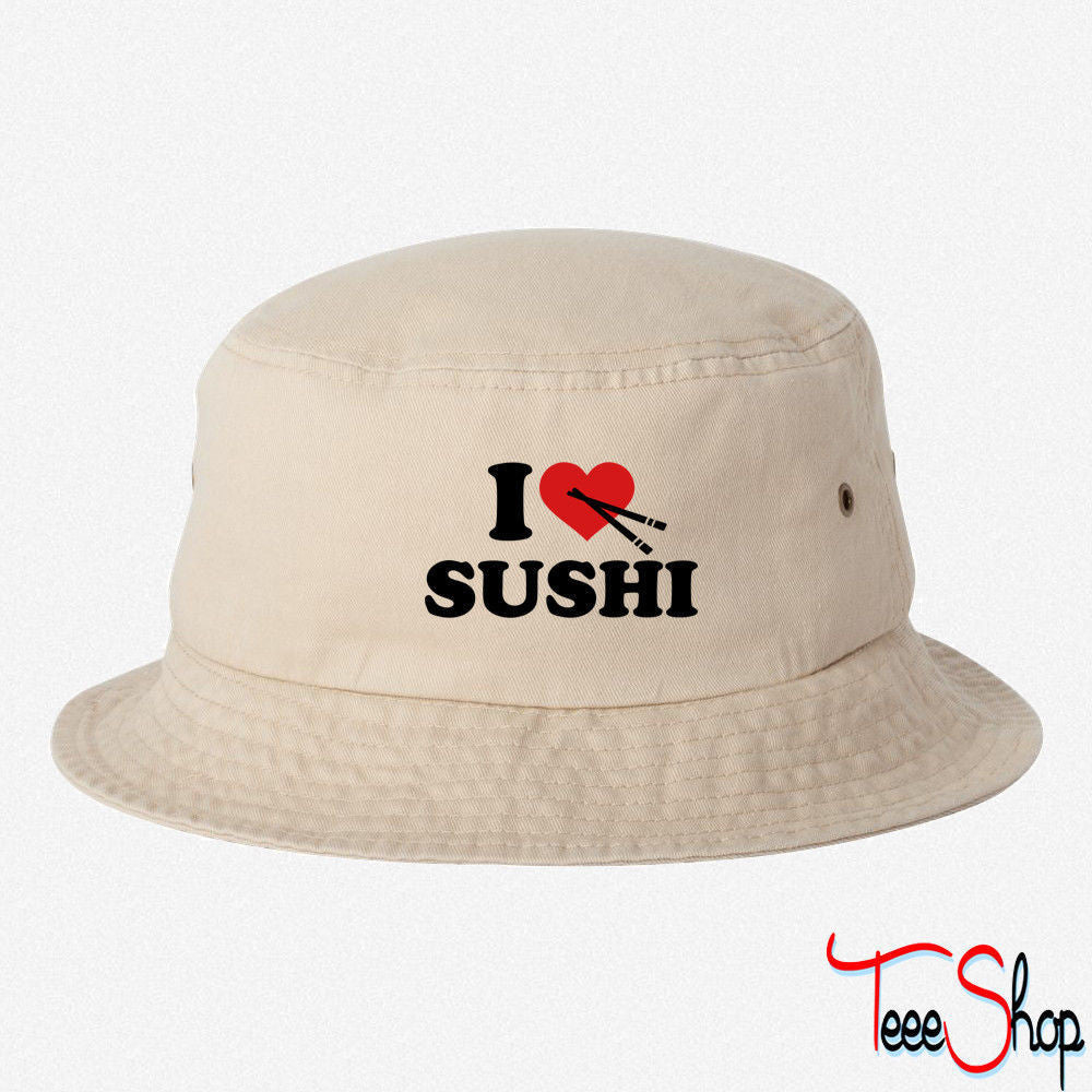 I love Sushi BUCKET HAT