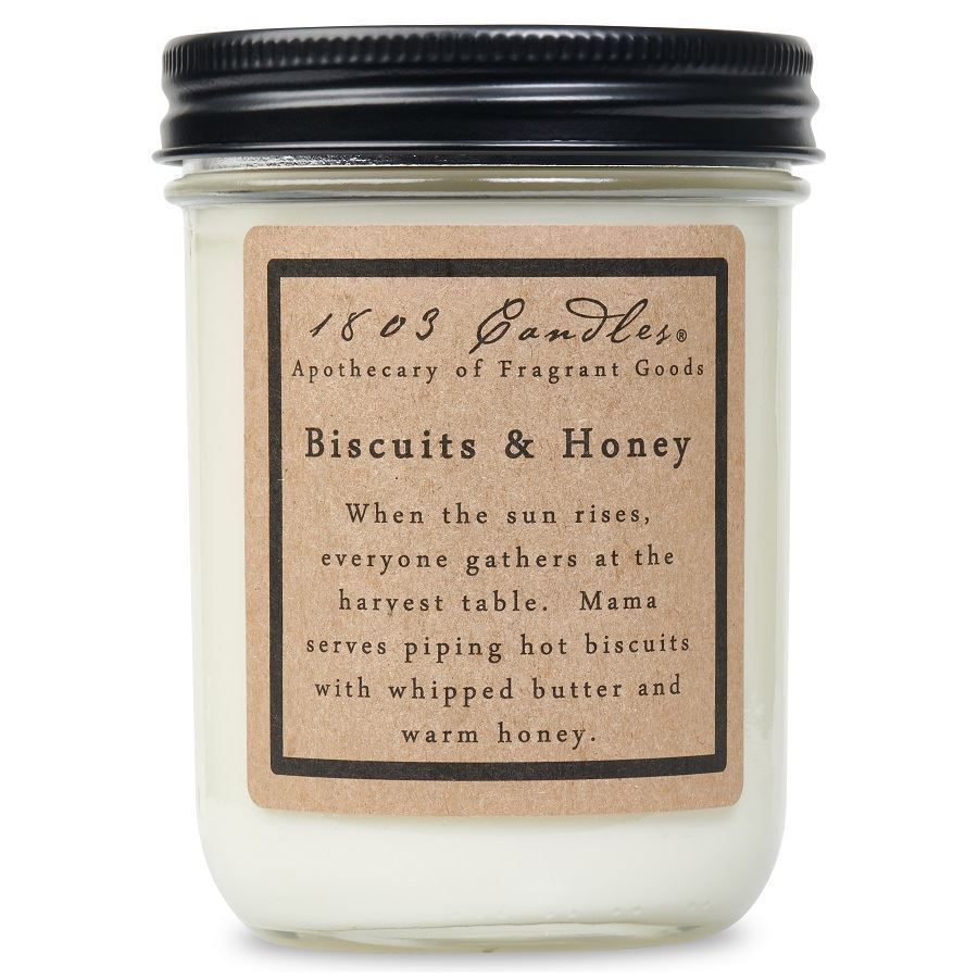 1803 Biscuits and Honey Soy Candle 14 oz