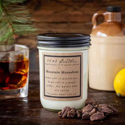 1803 Mountain Moonshine Soy Candle 14 oz