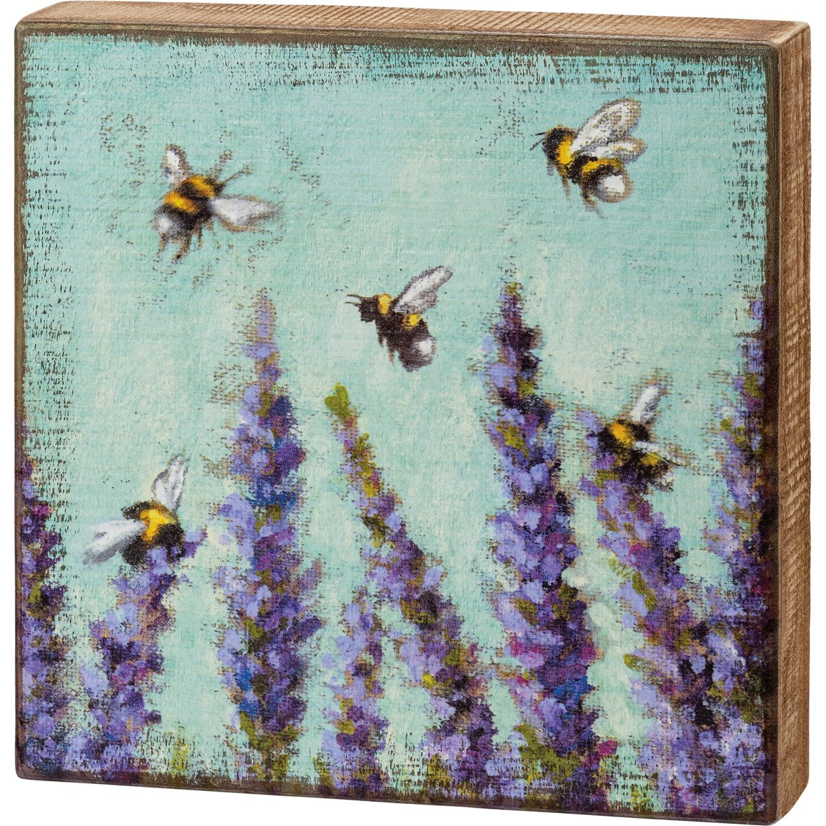 Lavender Box Sign Picture