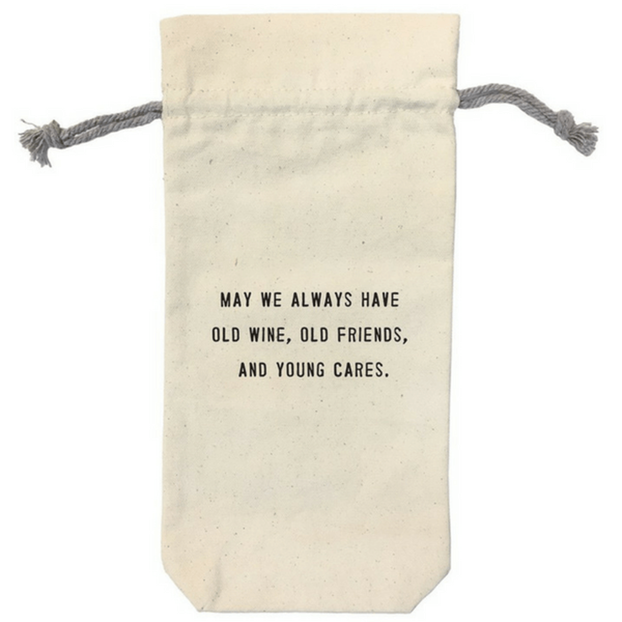 Wine Bag with Friendship Quote